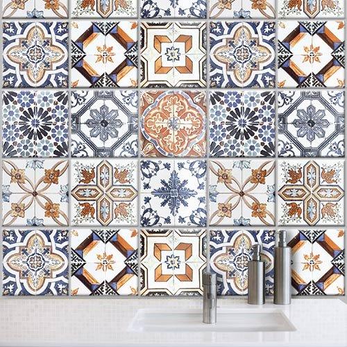 20 x 20 cm adesivo piastrelle piastrelle decorazione decorazione ... - Mattonelle Adesive Per Cucina