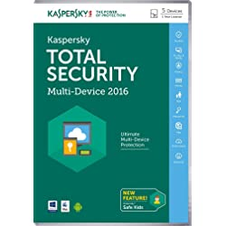 Kaspersky Total Security 2016 5 Device Software for 1 Year