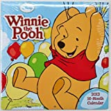 Winnie the Pooh 2013 - 16 Month Wall Calendar 10x10