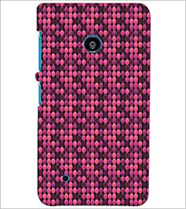 PrintDhaba Pattern D-5310 Back Case Cover for NOKIA LUMIA 530 (Multi-Coloured)