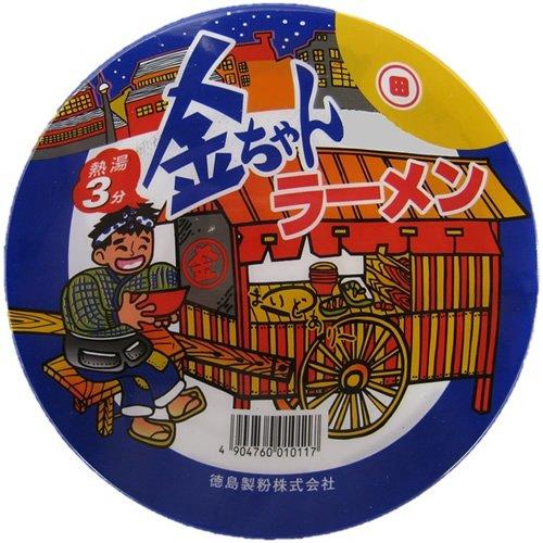 徳島製粉 金ちゃん ラーメンカップ 88g×12個