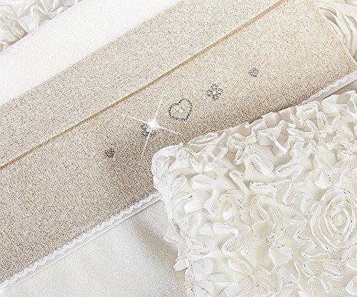 Copertina Culla in Pile Picci Flora Cod.63.22 Var 09 Bianco Panna