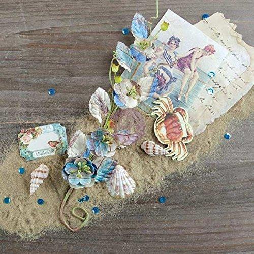Prima marketingfrench Riviera Fleur vigne 10.25-inch-plage de la Bouillabaisse, d'autres, multicolore