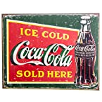 Ice Cold Coca-Cola® Metal Sign