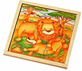Voila Wooden Safari Jigsaw Lion