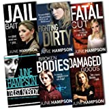 June Hampson June Hampson Daisy Lane 6 Books Collection Pack Set RRP: £139.94 (Fighting Dirty, Jail Bait, Trust Nobody, Fatal Cut, Broken Bodies, Damaged Goods)