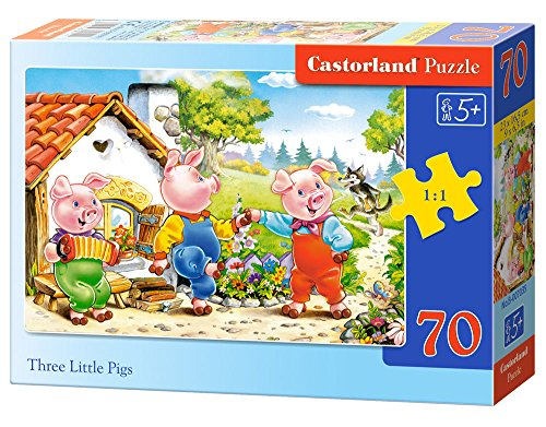 Castorland Three Little Pigs Jigsaw (70-Piece) - 1