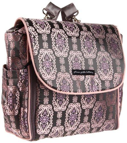 petunia pickle bottom boxy backpack diaper bag champagne roll barbara r du. Black Bedroom Furniture Sets. Home Design Ideas