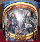 LORD OF THE RINGS - RETURN OF THE KING TWIN PACK - PELENNOR FIELDS ARAGORN & LEGOLAS WITH ROHAN ARMOR