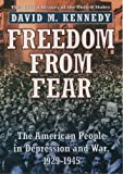 Image of Freedom from Fear: The American People in Depression and War, 1929-1945 (Oxford History of the United States)