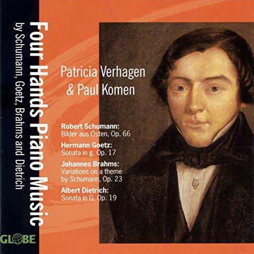 Sonata in G Major, Op. 19 for Piano Four Hands: II. Scherzo vivace