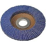 IVY Classic 42209 Flex-Abrasive 4-1/2-Inch x 7/8-Inch 120 Grit Fine Zirconia Flap Disc - Type 29, 1-Piece