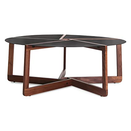 Blu Dot Pi Coffee Table, Walnut