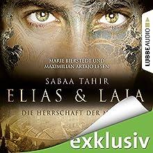 Elias & Laia: Die Herrschaft der Masken (       ungekürzt) von Sabaa Tahir Gesprochen von: Maximilian Artajo, Marie Bierstedt