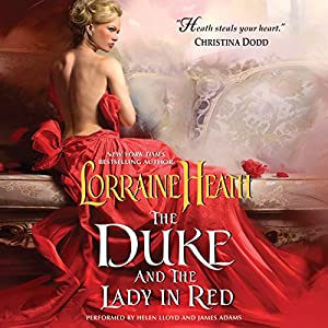 The Duke and the Lady in Red Hörbuch