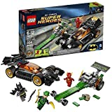 Lego Year 2014 DC Comics Super Heroes Series Battle Scene Set #76012 - BATMAN: THE RIDDLER CHASE With Batmobile...