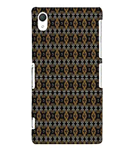 Curtains Cloth Design 3D Hard Polycarbonate Designer Back Case Cover for Sony Xperia Z2 :: Sony Xperia Z2 L50W D6502 D6503