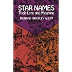 Star Names Their Lore and Meaning (Dover Books on Astronomy)