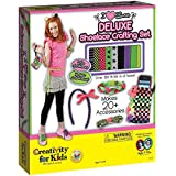Creativity For Kids I Love Laces Deluxe Shoelace Crafting Set