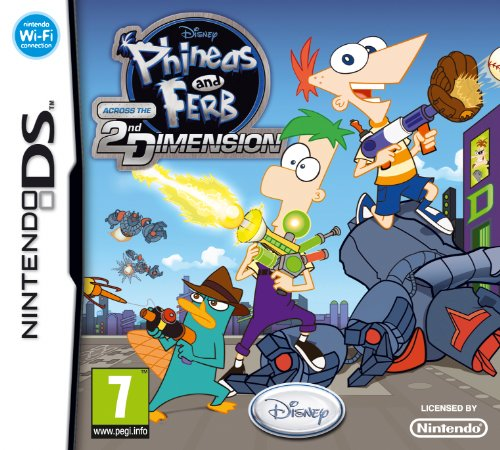 Phineas and Ferb Across the Second Dimension (Nintendo DS)