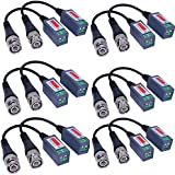 VIMVIP® 6 PAIRS (12 Pcs) Mini CCTV BNC Video Balun Transceiver Cable