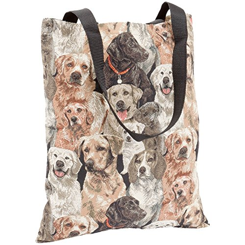 Dogs All-Over Collage Tote Bag