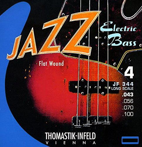 Thomastik-Infeld JF344【4弦FLAT弦】JAZZ エレキベース弦セット