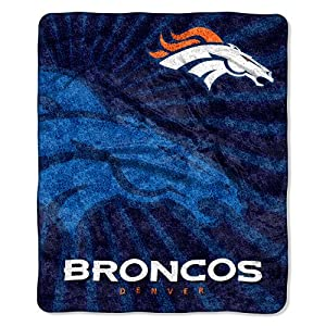 Denver Broncos NFL Sherpa Throw (Strobe Series) (50in x 60in)