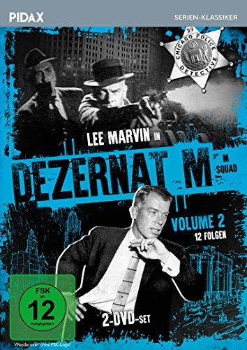 Dezernat M, Vol. 2 (M Squad) / 12 weitere Folgen der legendären Kriminalserie mit Lee Marvin (Pidax Serien-Klassiker)[2 DVDs]