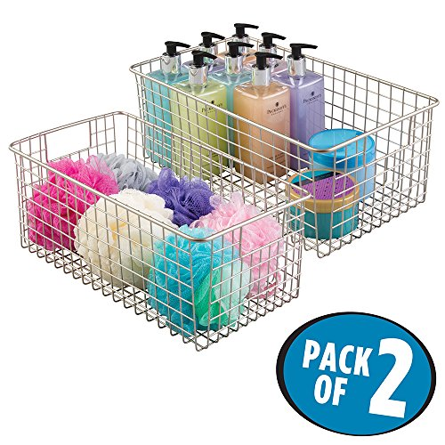 mdesign-wire-storage-basket-for-bath-towels-shampoo-health-and-beauty-supplies-pack-of-2-wide-satin