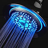 DreamSpa® All-Chrome Water Temperature Color-Changing LED Shower Head / SPECIAL HOLIDAY PRICE!
