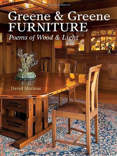 Greene & Greene Furniture: Poems of Wood & Light