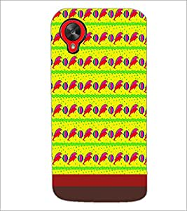 PrintDhaba Dolphin Pattern D-1850 Back Case Cover for LG GOOGLE NEXUS 5 (Multi-Coloured)