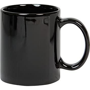 Black mug online