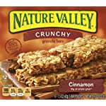 Nature Valley Cinnamon Granola Bars Crunchy, 12-Count Boxes (Pack of 6)