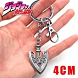 Momoso_Store Jojo Jojo's Bizarre Adventure Jotaro Kujo Killer Queen Arrow Asb Metal Pendant Keychain Keyring Cosplay Collection (Color: C, Tamaño: 5.5CM)