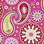 pinker Michael Miller Stoff Gypsy Paisley grosse B&hellip Michael Miller