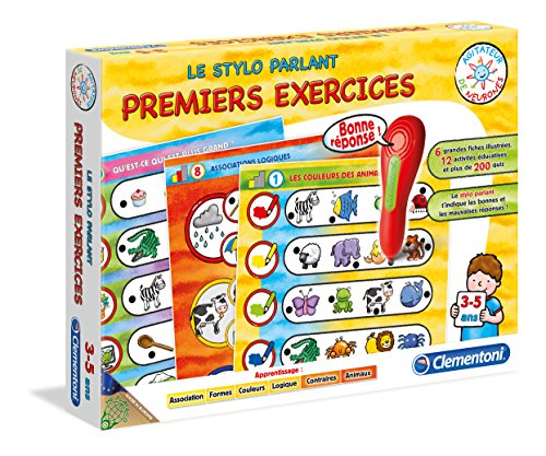 Clementoni - 52093.0 - Adn - Mon Stylo Parlant - Premiers Exercices