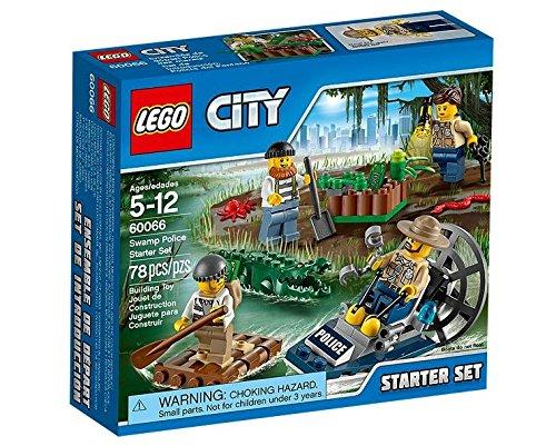 LEGO City Police 60066 - Starter Set Polizia, Missione nelle Palude
