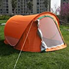 Family Pop Up Camping Hiking Tent Easy Instant Set Up Automatic Foldable