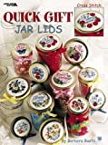 Barbara Baatz Quick Gift Jar Lids: Cross Stitch