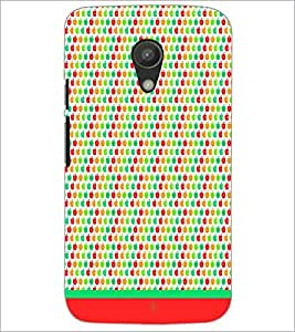 PrintDhaba Pattern D-1621 Back Case Cover for MOTOROLA MOTO G2 (Multi-Coloured)