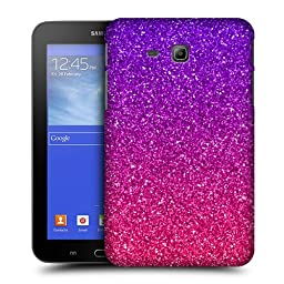 Head Case Designs Ombre Glitter Trend Mix Protective Snap-on Hard Back Case Cover for Samsung Galaxy Tab 3 Lite 7.0 T111 T110