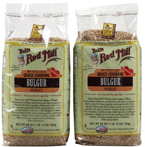 Bob's Red Mill Bulgur Red Wheat Ala - 28 oz - 2 pk