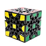 Tollbuy Gear Cube 3x3 3d Magic Combination Stickerless Twisty Puzzle