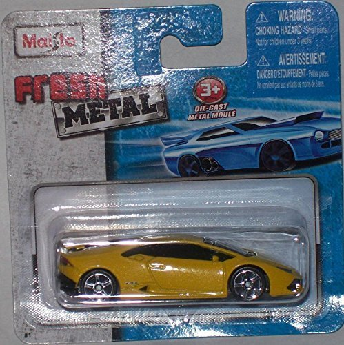 Maisto Fresh Metal Die-Cast Vehicles ~ Lamborghini Huracan LP 610-4 (Yellow)