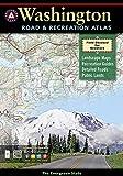 Washington Road & Recreation Atlas (Benchmark Map: Washington Road & Recreation Atlas)