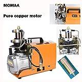 High Pressure Air Compressor Pump 30MPA-Electric PCP Air Compressor 4500PSI 2800R/Min pump for Airgun Scuba Rifle(0.5L 4 Minutes) By MOMAA (Color: Orange, Tamaño: Full Size)