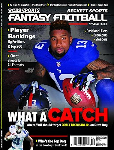 CBS Sports 2015 Fantasy Football Draft Guide - Fall Edition