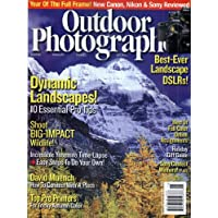 1-Year (10 Issues) of Outdoor Photographer Magazine Subscription